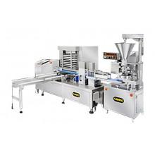 Автоматична лінія для виробництва штампованого печива з начинкою SD-97W + STA-306