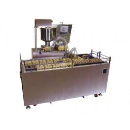 Автоматичні лінії формовки і випічки кондитерських бісквітних виробів з начинкою типу ведмедики Барні AWC