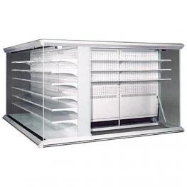 Стелажі холодильні з виносним агрегатом DORADO