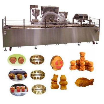 Автоматичні лінії формовки і випічки кондитерських бісквітних виробів з начинкою типу ведмедики Барні TAWC